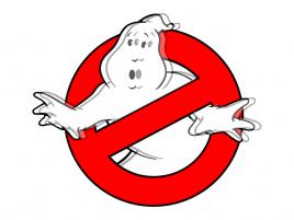 "Ghostbusters logo s ""duchem"" ;-)"