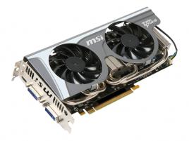MSI GeForce GTX 560 Ti Twin Frozr II - N560GTX-Ti