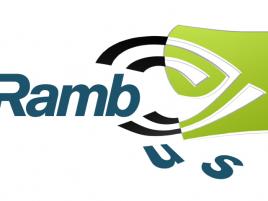 Nvidia Rambus logo