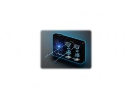Panasonic DMC-3D1 - konstrukce
