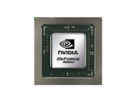 Nvidia GeForce 600M ilustrační