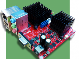 AMD Gizmo Sphere embedded APU board