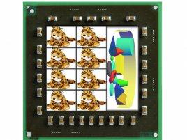 AMD Jaguar 8-core ilustrace
