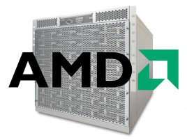 AMD logo SeaMicro server