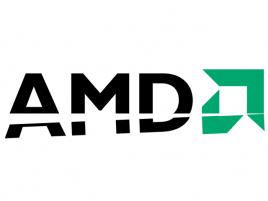 AMD logo ukrojené více