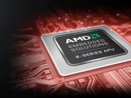 AMD R-Series logo na PCB