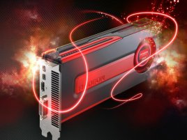 AMD Radeon HD 7800 v plamenech