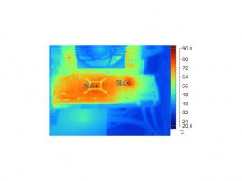 AMD Radeon HD 7950 teploty - reference