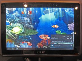 AMD Z-Series Z-01 MSI WindPad CES 2012