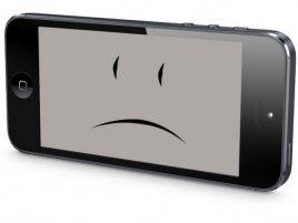 Apple iPhone 5 sad