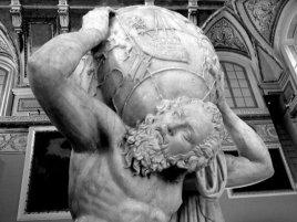 Atlas socha
