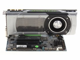 GeForce GTX 780 v desce