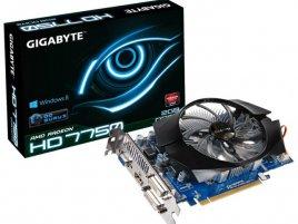 Gigabyte Radeon HD 7750 DDR3
