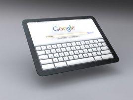Google Tablet ilustrační