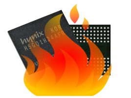 Hynix in fire