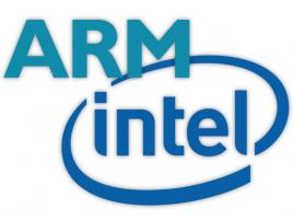 Intel ARM logo