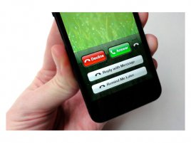 iPhone decline call