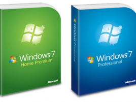 Microsoft Windows 7 box