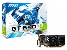 MSI GeForce GT 640 low-profile