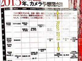 Nippon camera magazine roadmap 2013