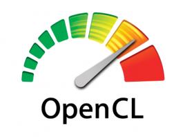OpenCL logo velké