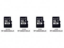 Panasonic micro-SDHC MLC NAND