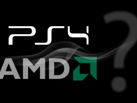 PlayStation 4 logo AMD