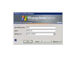 Přihlášení k systému Windows heslo