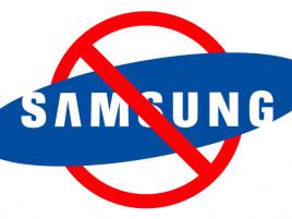 Samsung zákaz