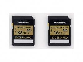 Toshiba Exceria Pro SDHC