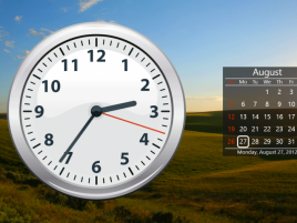 Windows 8 clock