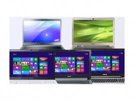 Windows 8 notebooks
