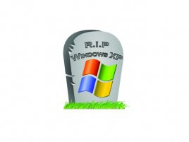 Windows XP Tombstone