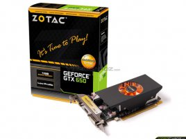 Zotac GeForce GTX 650 LP 01