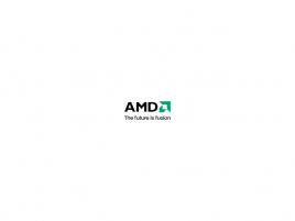 AMD The future is fusion logo