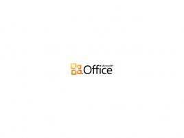 Microsoft Office logo nové horizontální / Microsoft Office 2010 logo horizontální