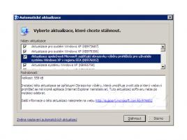 KB976002 - Aktualizace společnosti Microsoft zajišťující obrazovku výběru prohlížeče (Windows XP)