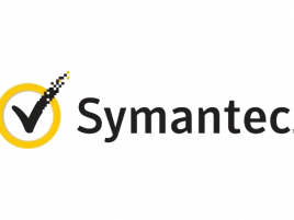 Symantec logo se znakem VeriSign