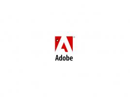 Děravé Adobe logo