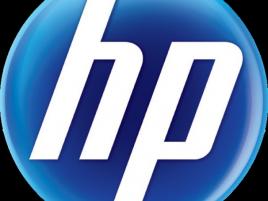 HP logo / Hewlett-Packard logo