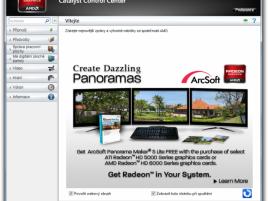 Catalyst Control Center - propagační stránka