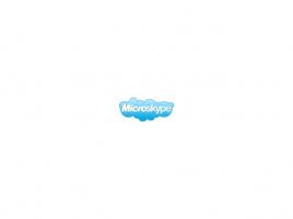Microskype logo vymyšlené