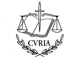 CVRIA - Evropský soudní dvůr logo