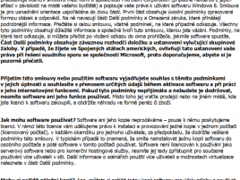 Licence Windows 8 Pro Retail (ukázka)