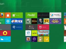 Firefox ikona v prostředí Metro ve Windows 8 (montáž)