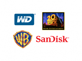 WD, WB, 20th Century Fox, SanDisk