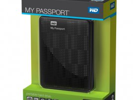 WD My Passport 2TB box