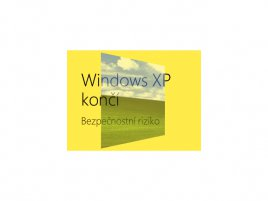 Windows XP končí