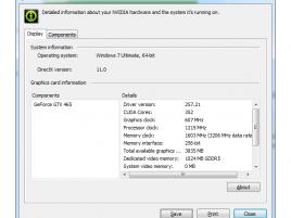Nvidia WHQL ovladač 257.21