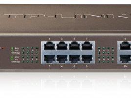 Gigabitový switch TP-LINK TL-SG1016D green